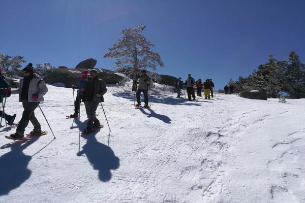 Aventura Raquetas de Nieve en Guadarrama