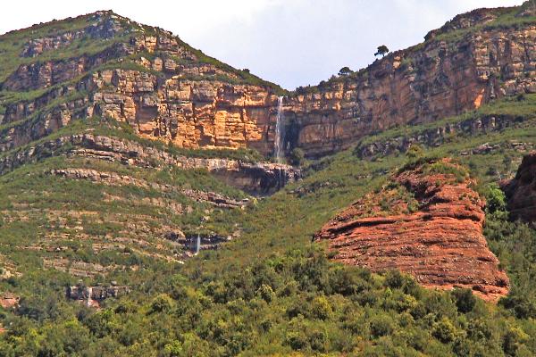 Torrent del Gat Menjat, Barranquismo seco
